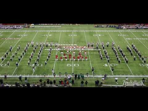 MVSU - Mean Green Marching Machine - SWAC BOTB (2013) HD