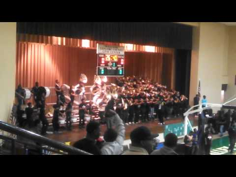 Mvsu Pep band Turns up the croud 2014