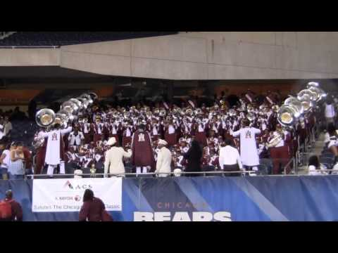 AAMU Band Novacane Chicago Football Classic