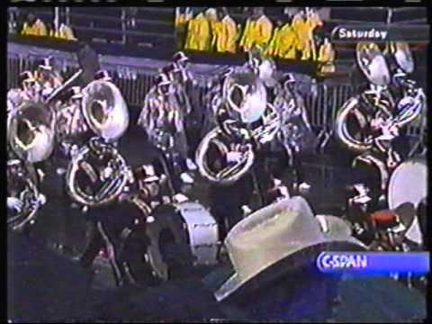 Grambling State University Band Presidential Inauguration 2001