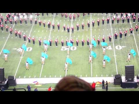 "Winston-Salem State U. ""Red Sea of Sound"" @ 2014 Honda BOTB"