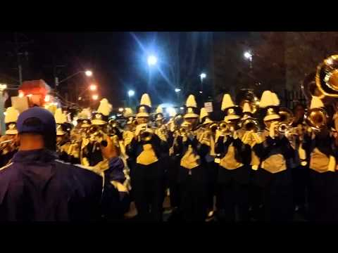 McKinley High Band 2014 Mardi gras Jump start