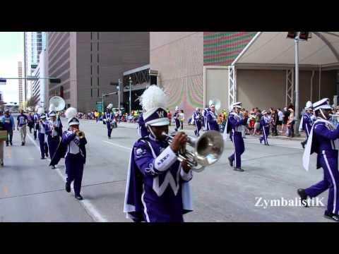 Phillis Wheatley High School (2014) - Houston Rodeo Parade