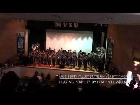 Mississippi Valley State University Playing Happy