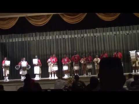 Jack Robey Jr High Whitehaven Battle of the Drummers 2014