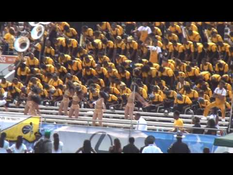 """ASU's """"Mighty Marching Hornets"""" performing """"Birthday Cake"""" by Rihanna"""