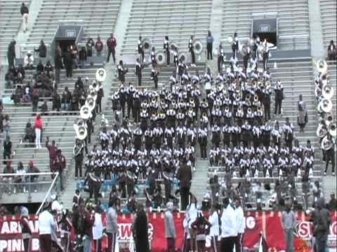 TxSU vs Bama St SWAC Champ Pre Game Pt2 2010