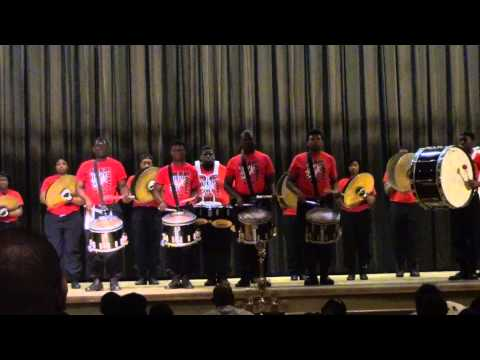 Pine Bluff High Whitehaven Battle Of The Drummers 2014