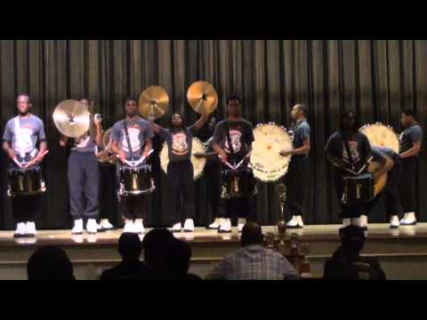Fairley High Whitehaven Battle Of The Drummers 2014