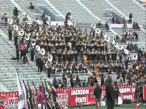 TxSU vs Bama St SWAC CHAMP Pre Game Pt1 2010