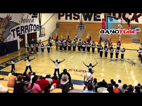 6th Annual Band Face Off: Center Point vs. Pebblebrook (2014)