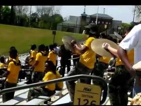 ASU Drumline Black and Gold Game 2014