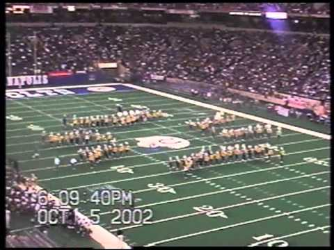 Southern University Marching Band (2002) Halftime Circle City Classic