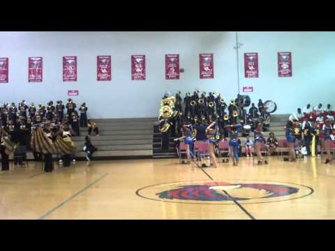 Hickory Ridge Middle Returning the favor to Havenview at American Way Showdown 2014 Rd 5