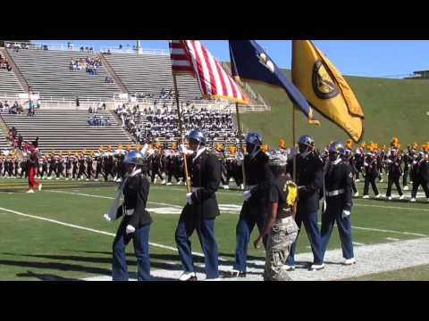 "Grambling's ""World Famed"" Tiger Marching Band 2013-2014 ""National Anthem"" ""Fight Song"""