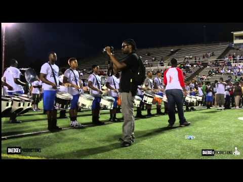 MAAB vs. MMB Drum Section Battle @ The Independence Day BOTB 2014