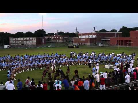 Memphis Mass Band vs. Music City Mass Band 2014 FULL BATTLE