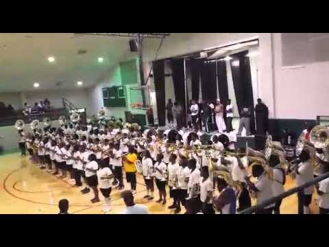 MVSU BAND MGMM 2014- LOVE NEVER FELT SO GOOD(side view)