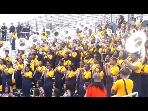 2014 NCAT's- Blue & Gold Marching Machine performing Earth, Wind, &Fire