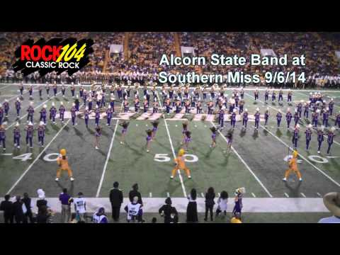 Alcorn State Band at Southern Miss  2014