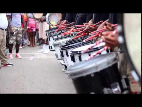 Jack Robey Jr High Drumline Sneak Peek 2014
