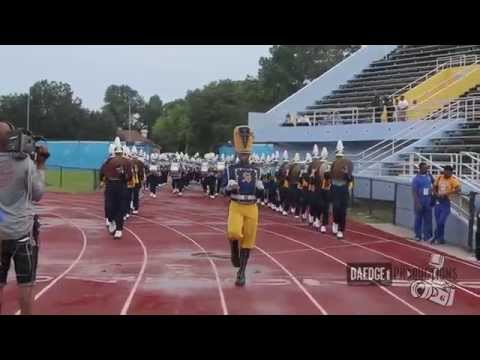 Southern University Human Jukebox Marching In & Out of Mumford 2014