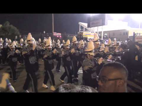 Jackson State Marching Out vs Grambling 2014