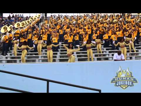 "Southern University Human Jukebox 2014 ""Swang"""