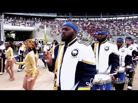 Prairie View A&M University - Marching in Cotton Bowl (2014)