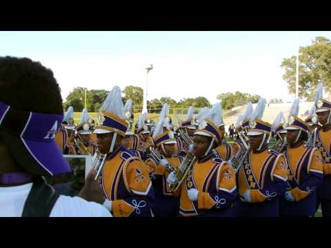 Alcorn vs Alabama State 2014 ~ Stadium Entrance