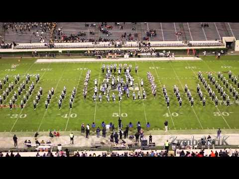 Jackson State Sonic Boom of the South (2014) - Halftime Drill vs PVU