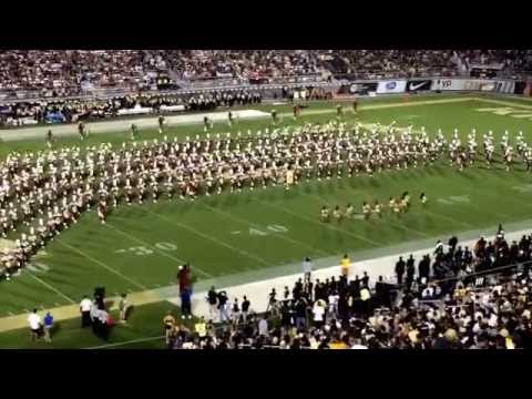 Bethune Cookman marching band halftime show @ UCF September 20, 2014