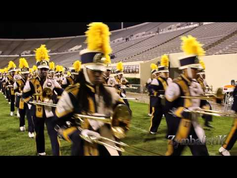 PVAMU Marching Storm - Marching Out of Memorial Stadium (2014)