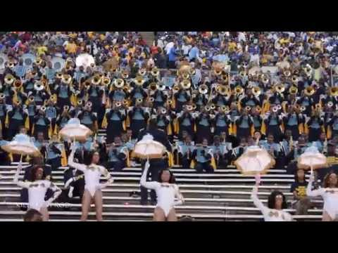 Southern University Marching Band - Let Your Mind Be Free - 2014