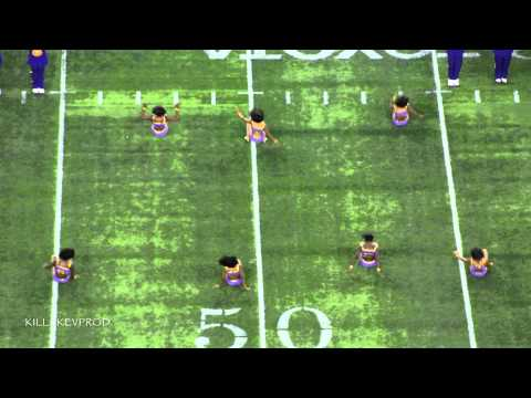 Alcorn State University Marching Band - Halftime Show - 2014