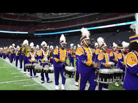 Alcorn State University Marching Band - Entrance - 2014