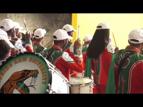 "2014 FAMU's ""Marching 100"" Drumline"