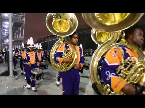 Alcorn State University Marching Band - Exiting NRG Stadium - 2014