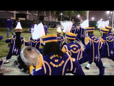 Alcorn State University Marching Band - T.O.P. Percussion Feature - 2014