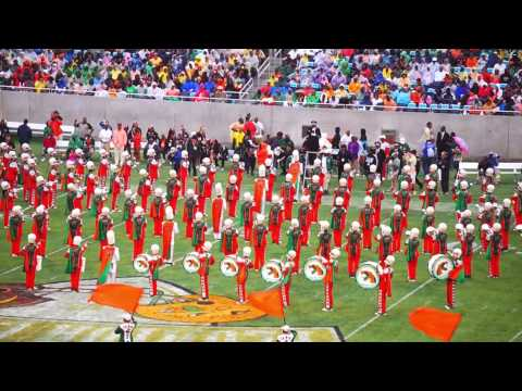 "FAMU ""Marching 100"" @ 2014 Florida Classic"