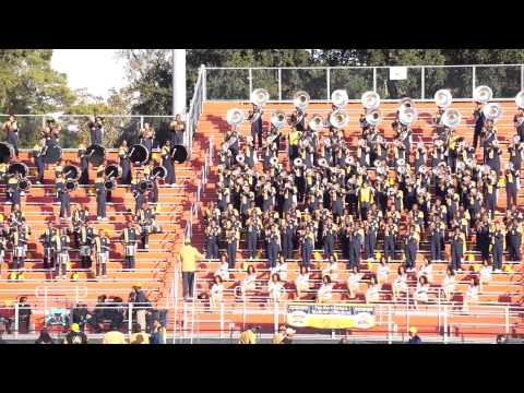 "2014 Blue & Gold Marching Machine performing ""GetAway"""