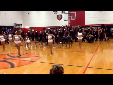"Donaldsonville High School Marching Band - ""Fight Night / Get Your Freak On"" 2014"