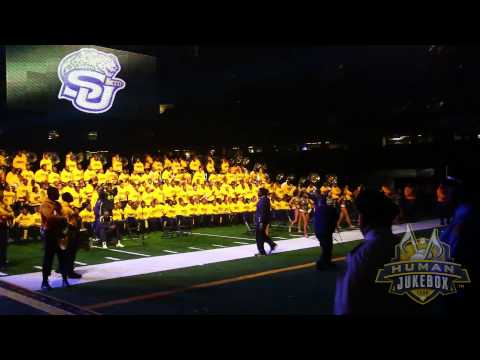 Bayou Classic Battle of the Bands 2014 Part. 1