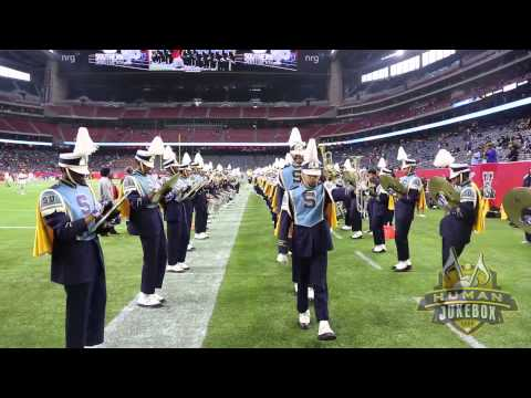 Southern University Human Jukebox Marching Into SWAC Championship 2014