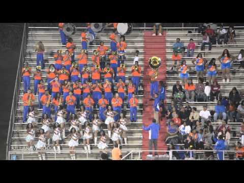Hunters Lane High School Marching Band - Back Dat Thang Up - 2014