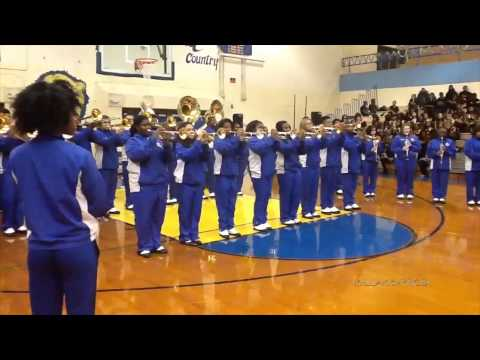 Hunters Lane High School Marching Band - Skin I'm In - 2014