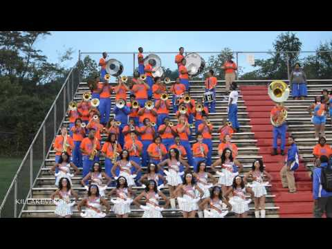 Hunters Lane High School Marching Band - Hot & Spicy (LOUD) - 2014