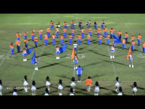 Hunters Lane High School Marching Band - Field Show - 2014