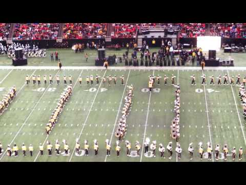 """Alabama State University """"Mighty Marching Hornets"""" @ 2015 HBOB"""