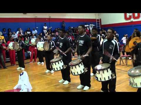Texas vs Arkansas Middle School Drumline 2015